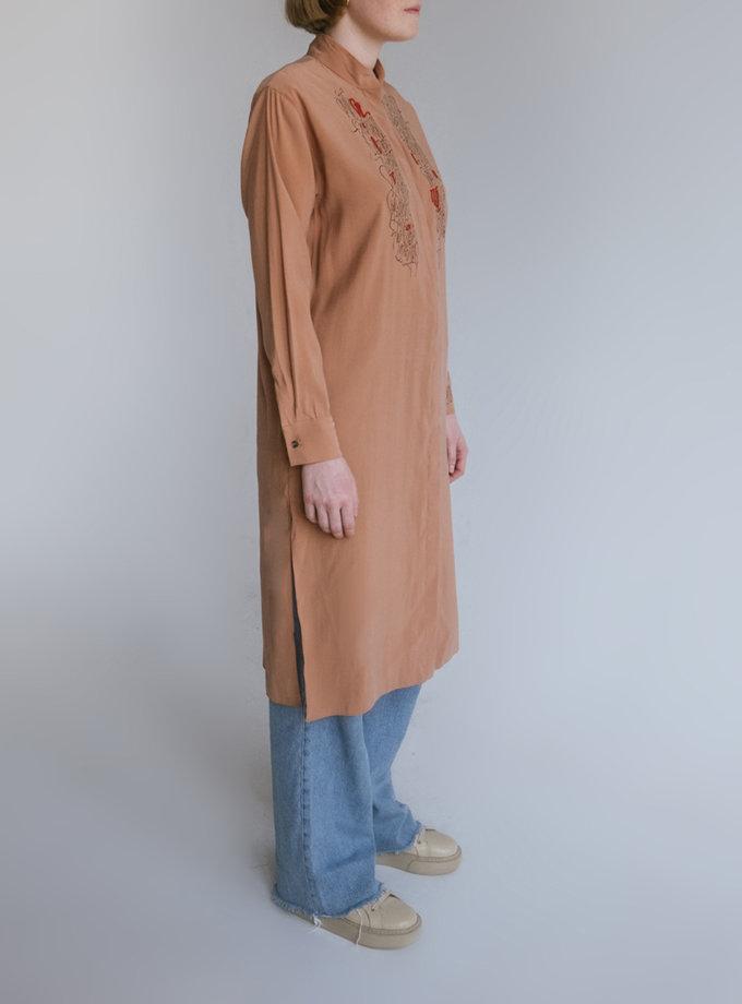 Довга сорочка Очі Волошкові NST_LongS, фото 1 - в интернет магазине KAPSULA