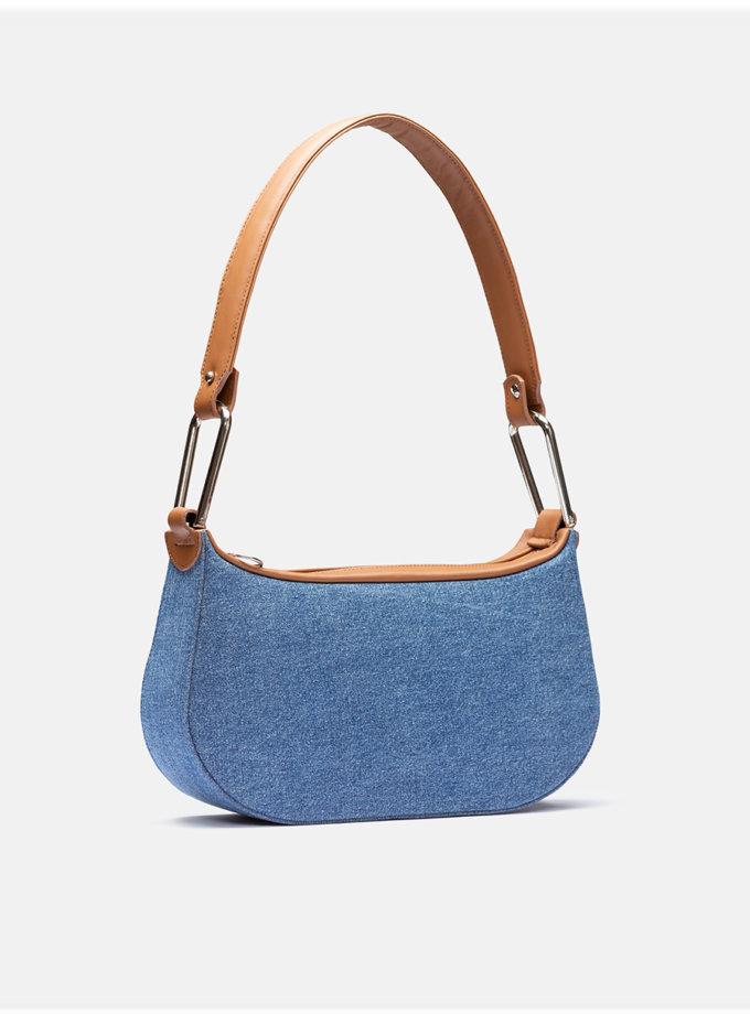 Кожаная сумка Saddle Bag Upcycling Collection Camel SNKD_P0068S, фото 1 - в интернет магазине KAPSULA