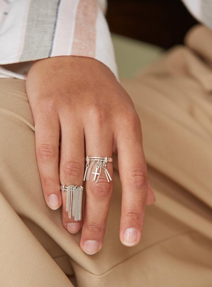 Кольцо Confidence с цепочкой IVA_CS02, фото 1 - в интернет магазине KAPSULA