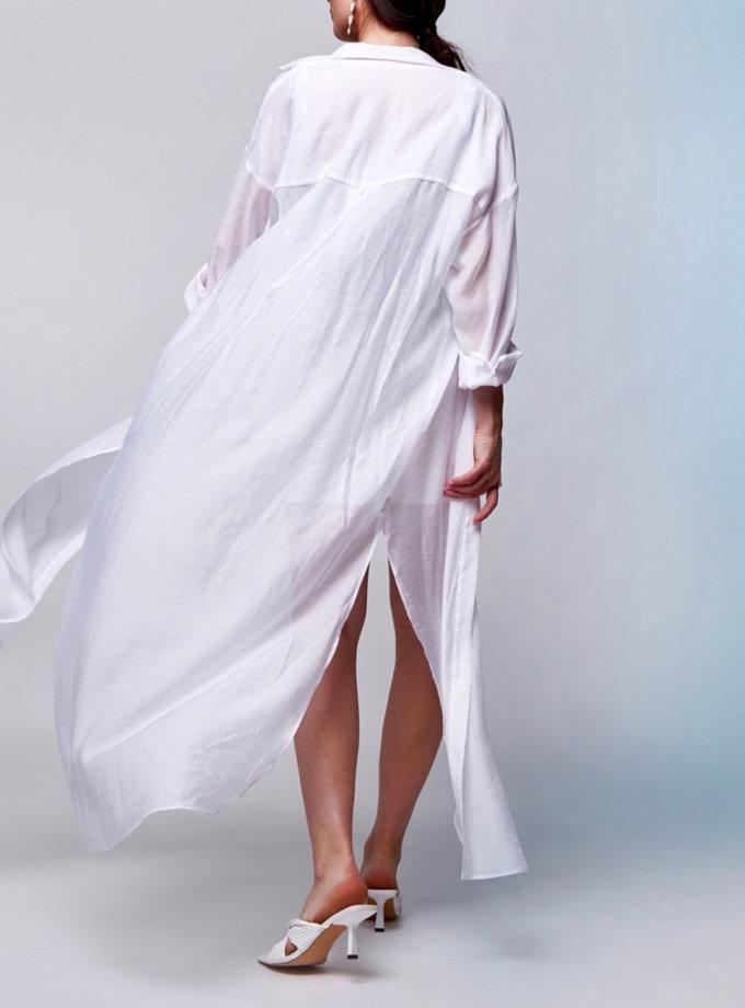 Сорочка-туніка CVR_SHTLONG-SS21, фото 1 - в интернет магазине KAPSULA