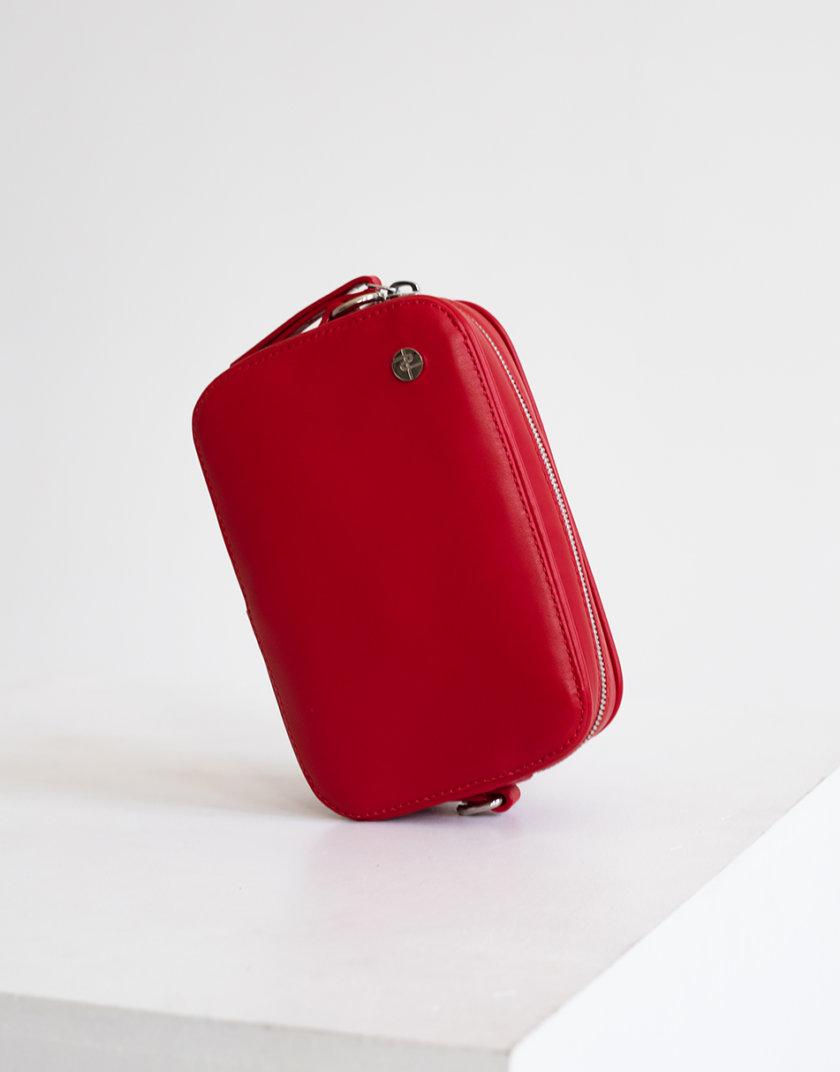 Кожаная сумка-трансформер Brick bag PDH_SS20_00013_4, фото 1 - в интернет магазине KAPSULA