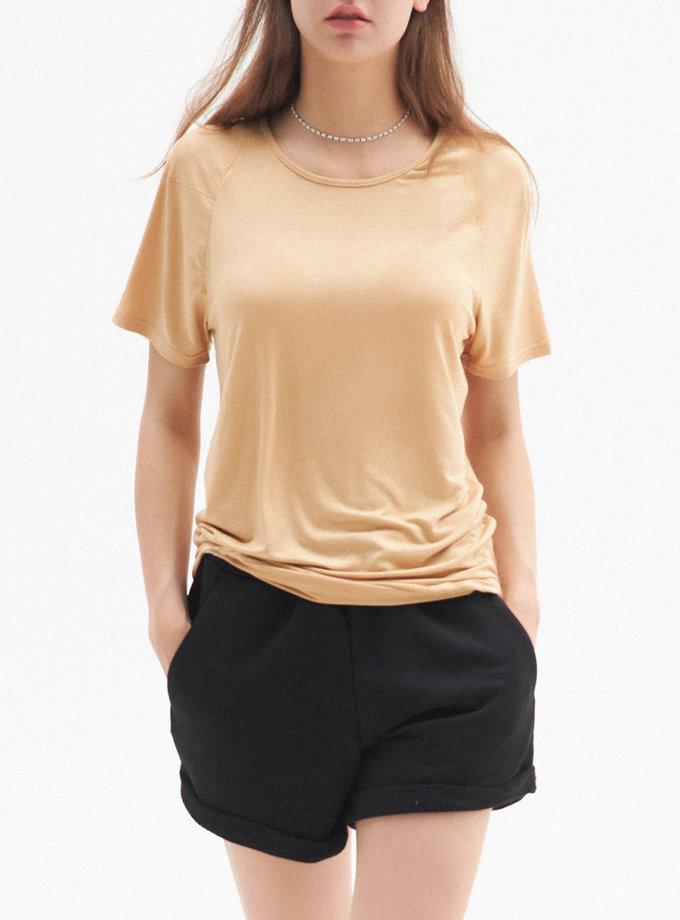 Трикотажна футболка BEECH FRM_TYE_03B_BE, фото 1 - в интернет магазине KAPSULA