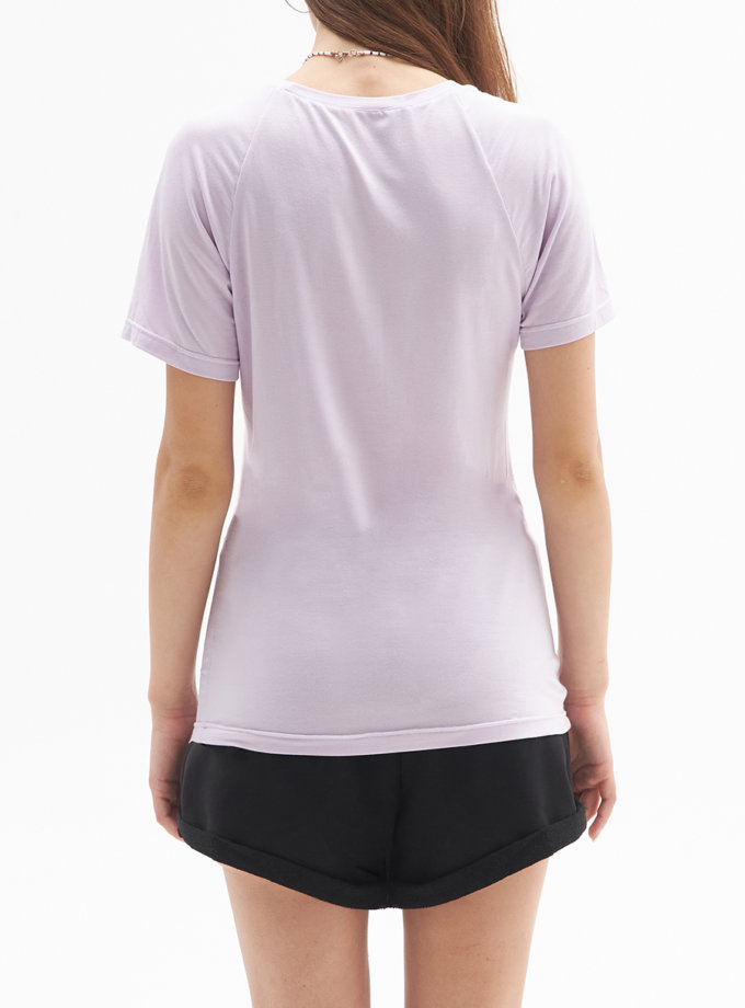 Трикотажна футболка BEECH FRM_TYE_03B_V, фото 1 - в интернет магазине KAPSULA