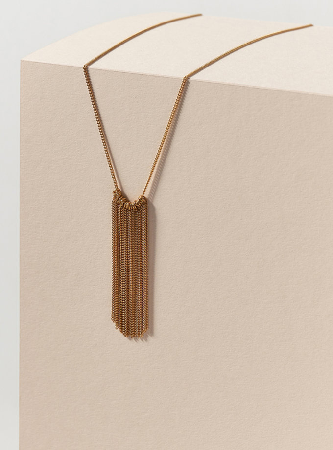 Колье Waterfall IVA_WG04-necklace, фото 1 - в интернет магазине KAPSULA