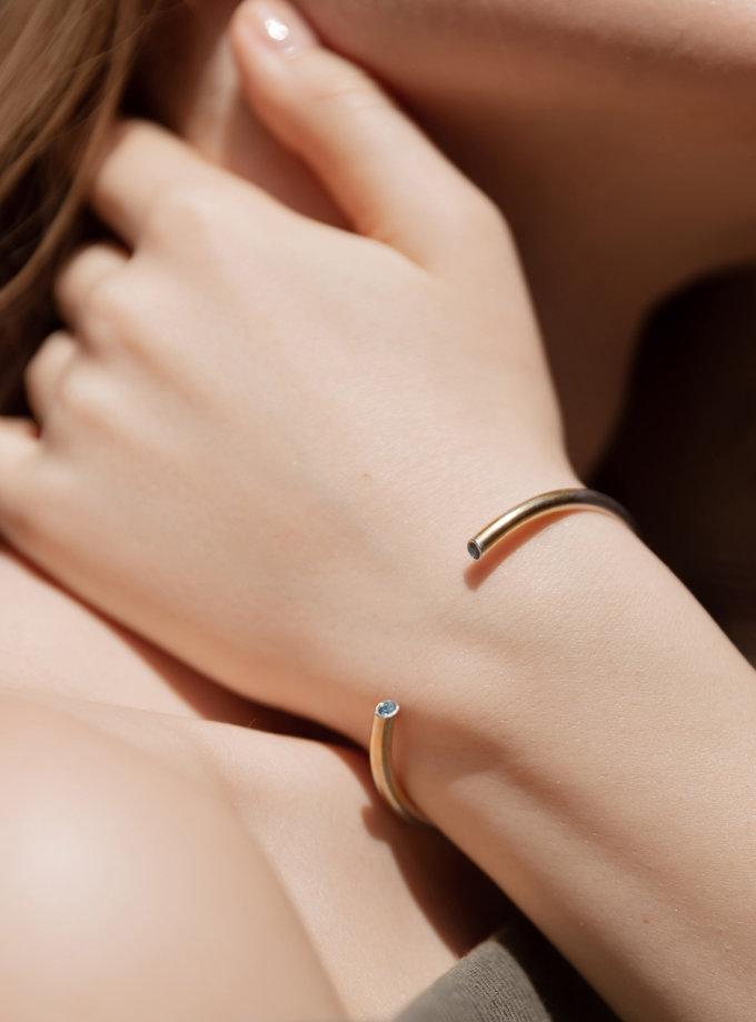 Срібний браслет з камінцями LGV_braclet_s_kamnami, фото 1 - в интернет магазине KAPSULA