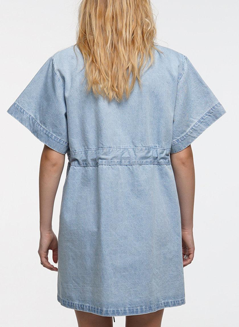 Джинсовое платье WNDM_dr21-drss-blue, фото 1 - в интернет магазине KAPSULA