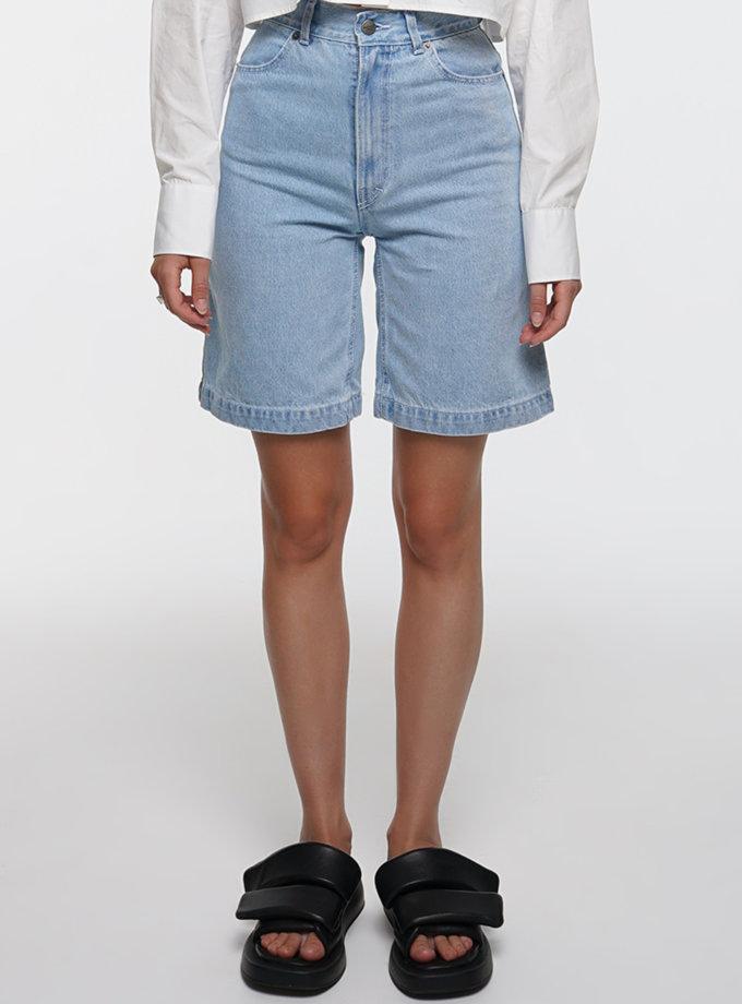 Джинсовые шорты WNDM_dr21-shrts-blue, фото 1 - в интернет магазине KAPSULA