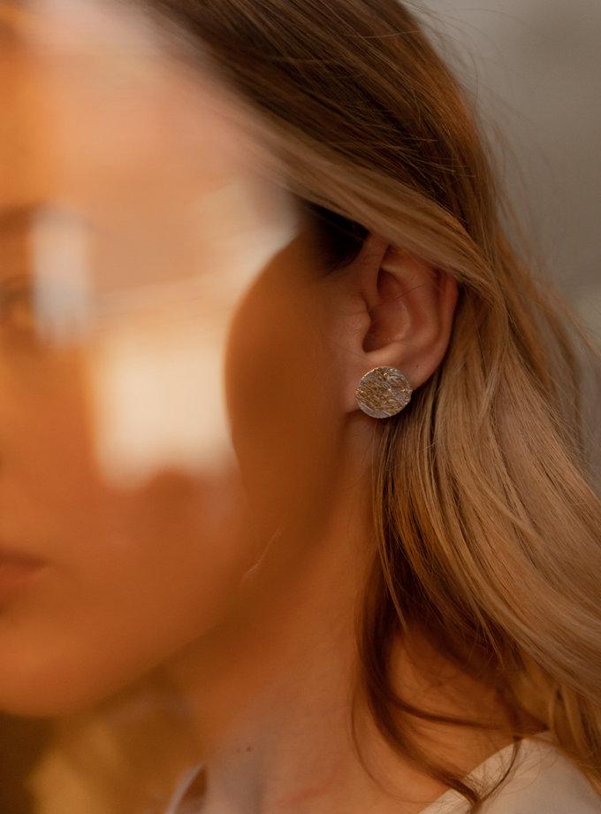 Срібні сережки Восход LGV_earings_sunrise, фото 1 - в интернет магазине KAPSULA