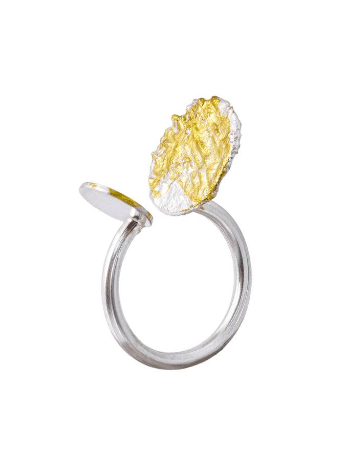 Срібне кольє - краватка LGV_ring2x, фото 1 - в интернет магазине KAPSULA