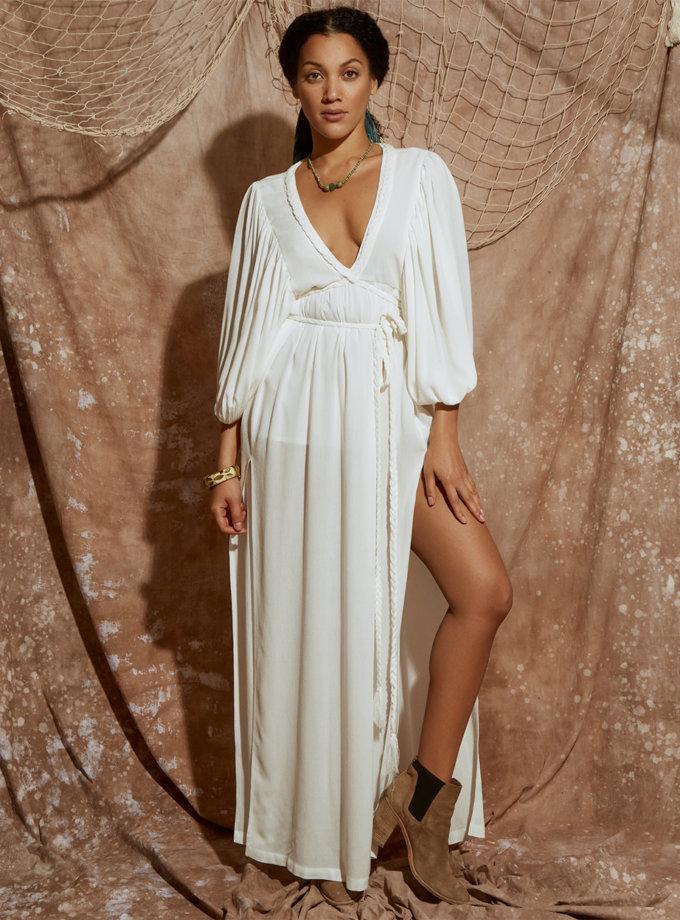 Хлопковое платье макси KLSV_ss21_1, фото 1 - в интернет магазине KAPSULA