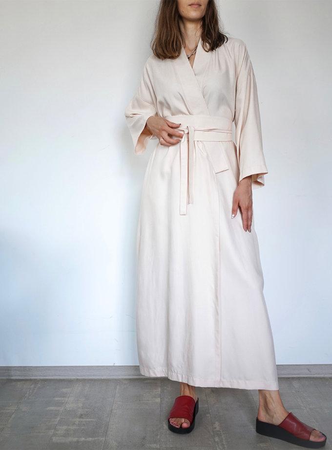 Платье-кимоно с поясом INS_SS20_4_01-dress, фото 1 - в интернет магазине KAPSULA