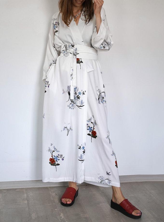Платье-кимоно с поясом INS_SS20_4_03, фото 1 - в интернет магазине KAPSULA