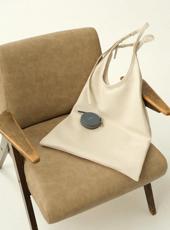 Шкіряна сумка La Poche ETP_0017-La-Poche-Grand-Lait, фото 1 - в интернет магазине KAPSULA