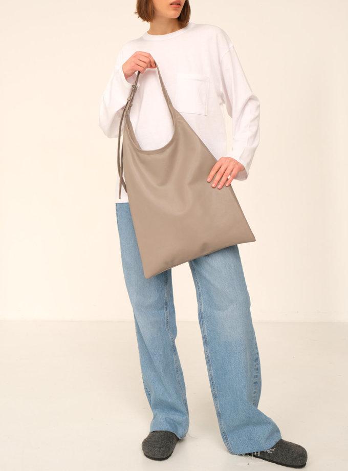 Шкіряна сумка La Poche Grand Grise ETP_La-Poche-Grand-Grise, фото 1 - в интернет магазине KAPSULA