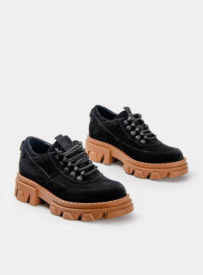 Замшевые кроссовки CRS_21-01643, фото 1 - в интернет магазине KAPSULA