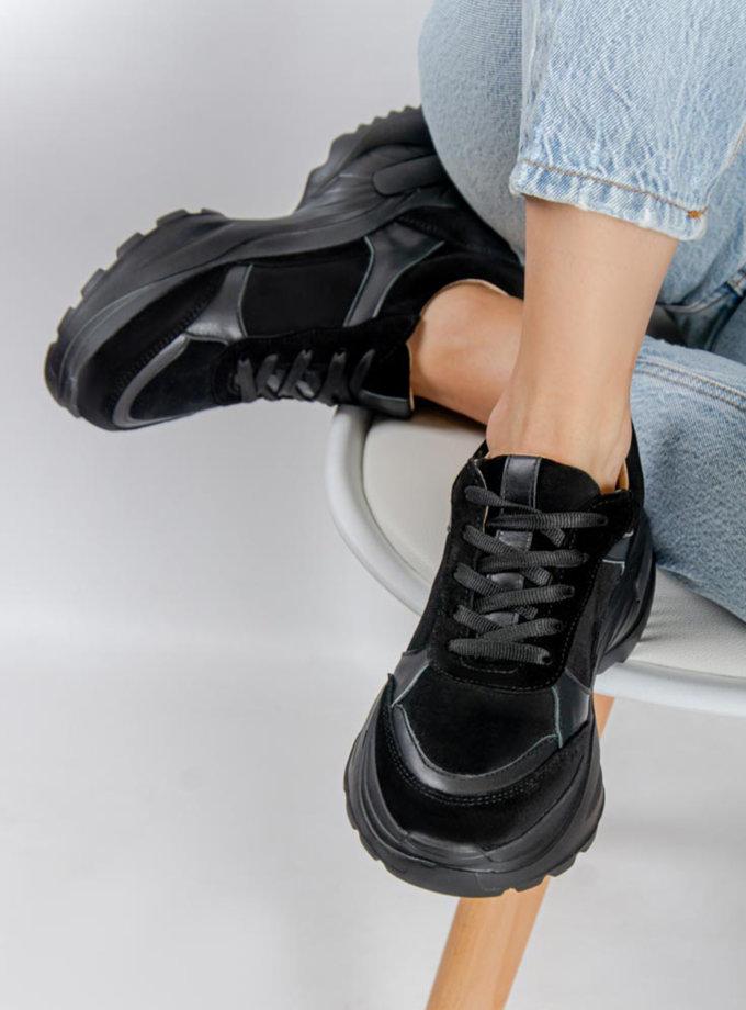 Замшевые кроссовки CRS_21-01672, фото 1 - в интернет магазине KAPSULA