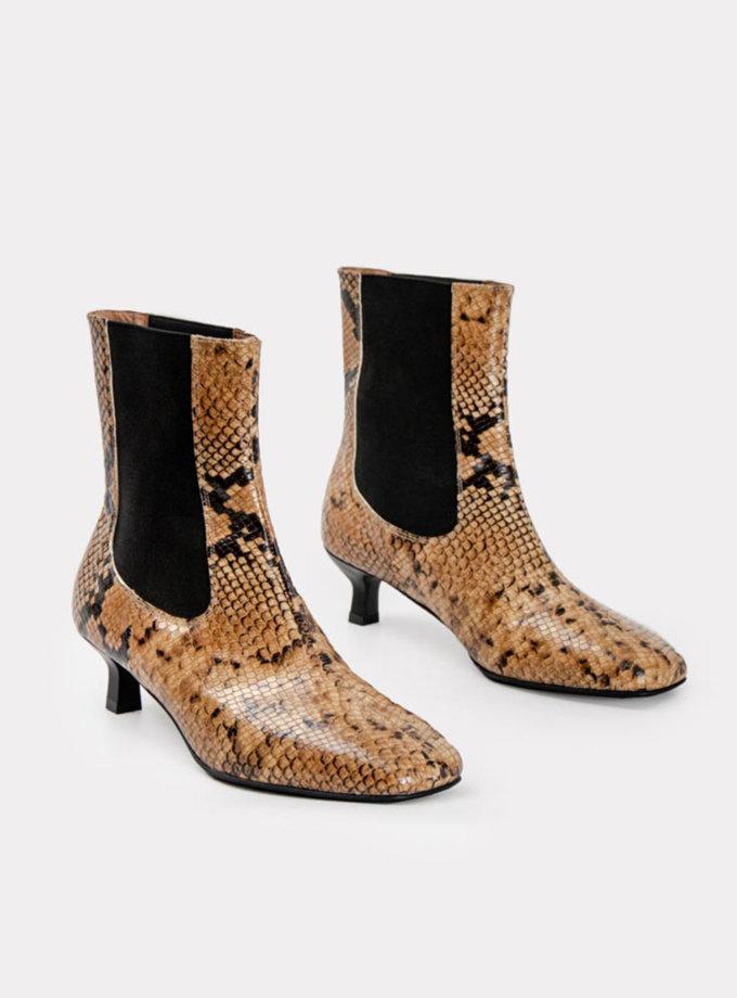 Шкіряні ботинки CRS_21-01702, фото 1 - в интернет магазине KAPSULA