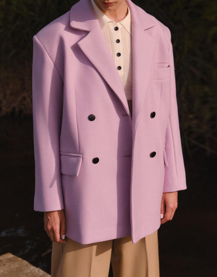 Короткое пальто из шерсти LAB_2206, фото 1 - в интернет магазине KAPSULA