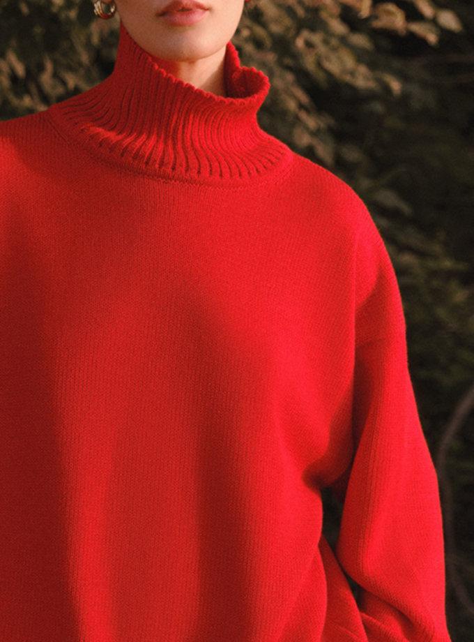 Cветр oversize прямого крою LAB_2221, фото 1 - в интернет магазине KAPSULA