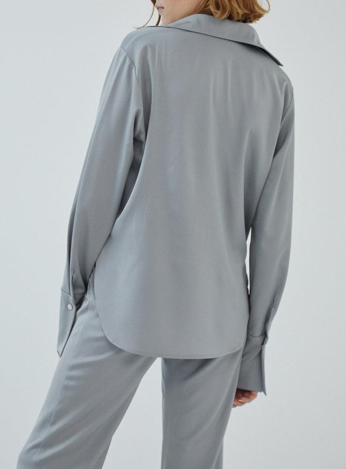 Объемная рубашка MRZZ_mz_106121, фото 1 - в интернет магазине KAPSULA