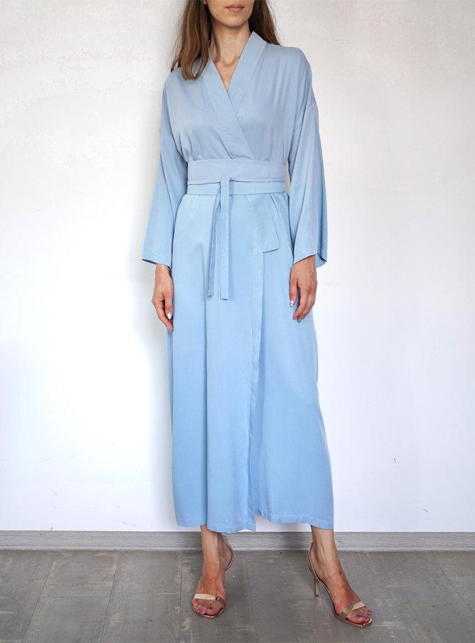 Платье-кимоно с поясом INS_SS20_4_02, фото 1 - в интернет магазине KAPSULA