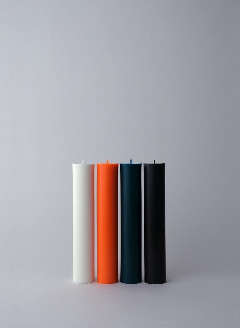 Набор BLACK CANDLES SET PILLAR SB_PL_BLK-4, фото 1 - в интернет магазине KAPSULA
