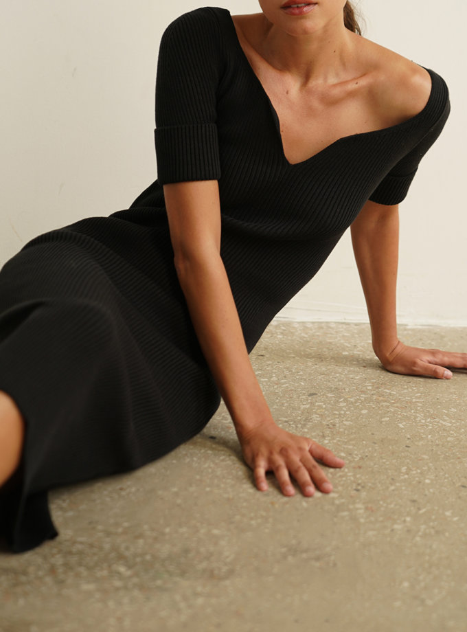 Бавовняна сукня Flora CHMSP_CS_18317, фото 1 - в интернет магазине KAPSULA