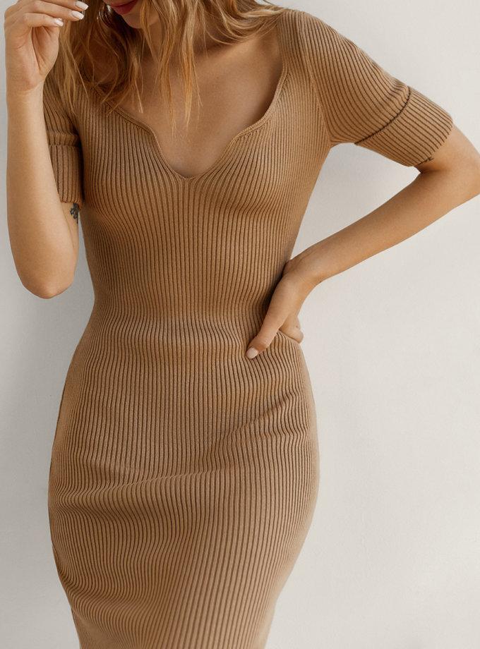 Хлопковое платье Flora SYI_CS_18319-kapsula, фото 1 - в интернет магазине KAPSULA