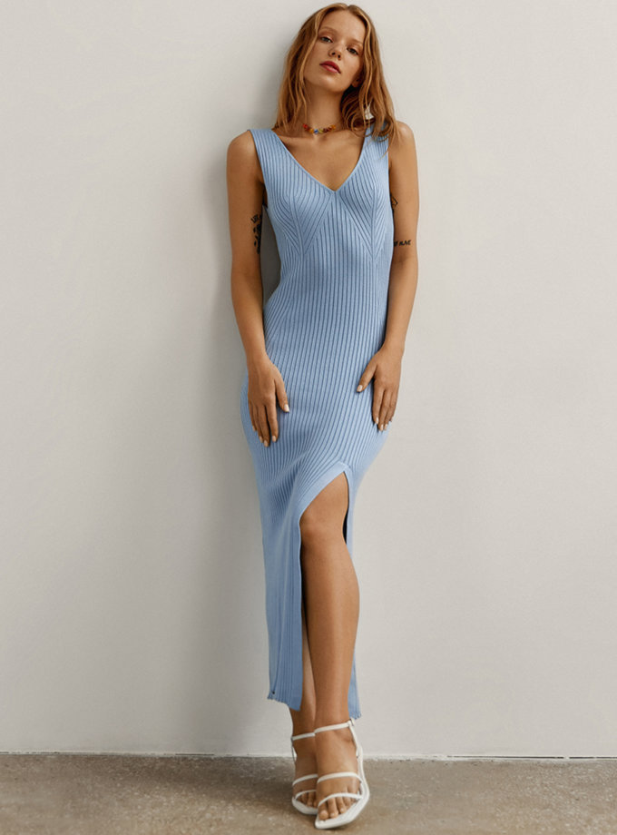 Сукня міді Vanessa CHMSP_CS_18330, фото 1 - в интернет магазине KAPSULA