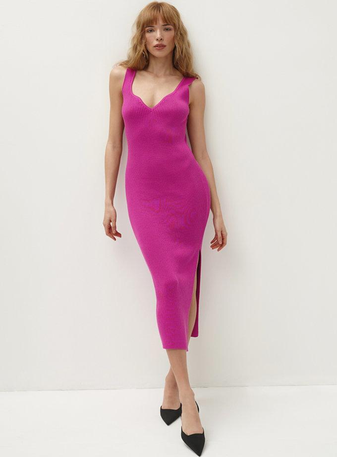 Хлопковое платье миди Bella CHMSP_CS_18334, фото 1 - в интернет магазине KAPSULA