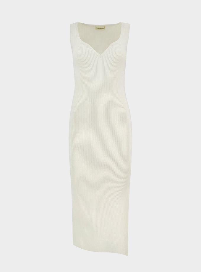 Бавовняна сукня міді Bella CHMSP_CS_18331, фото 1 - в интернет магазине KAPSULA