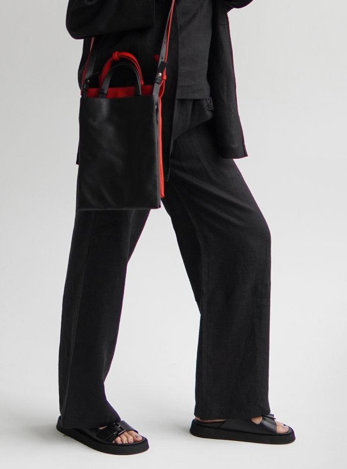 Шкіряна сумка Petite Black ETP_0027-Petite-Black, фото 1 - в интернет магазине KAPSULA