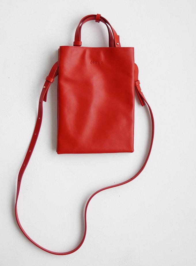 Кожаная сумка Petite Rouge ETP_0027-Petite-Rouge, фото 1 - в интернет магазине KAPSULA