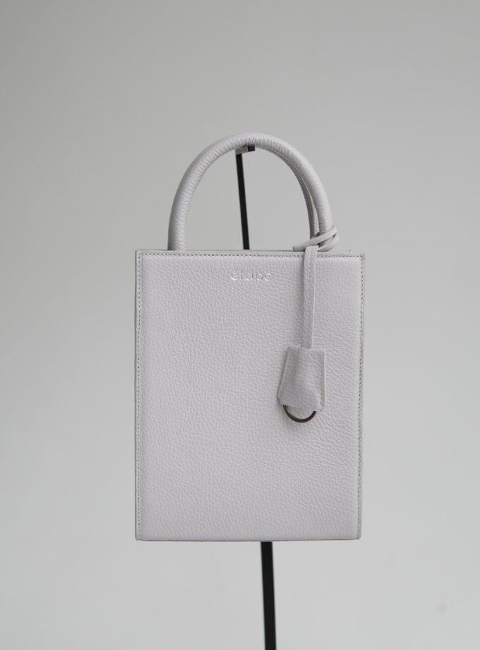 Шкіряна сумка TOY BAG ETP_TOY-BAG-888-GR, фото 1 - в интернет магазине KAPSULA