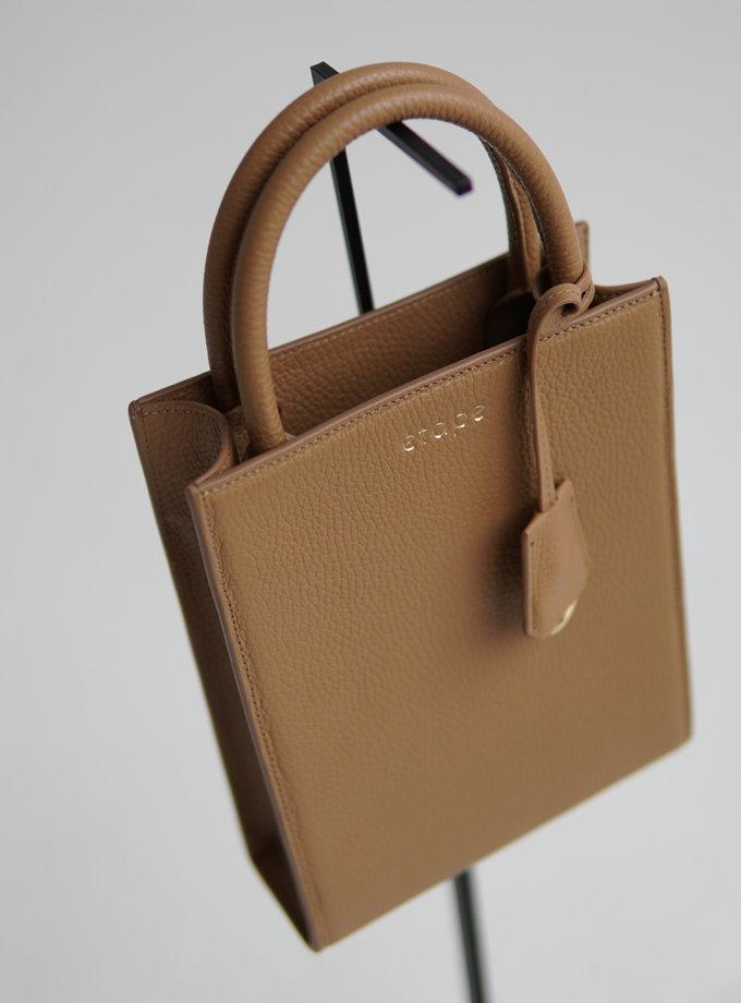 Шкіряна сумка TOY BAG ETP_TOY-BAG-888-СМ, фото 1 - в интернет магазине KAPSULA