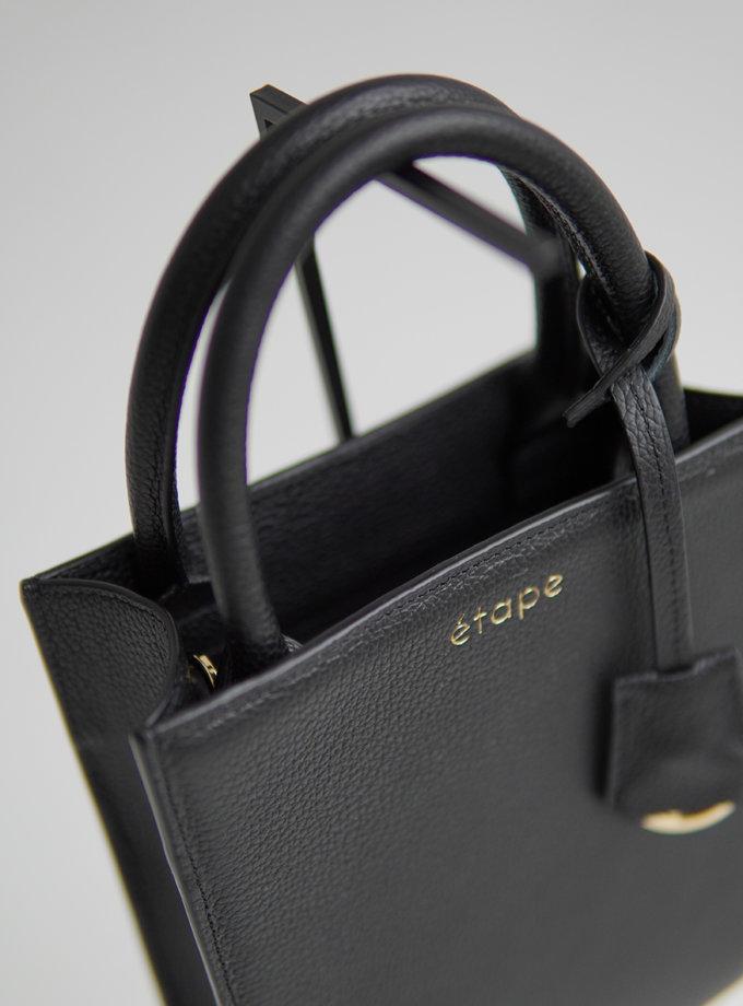 Шкіряна сумка TOY BAG ETP_TOY-BAG-888-BL, фото 1 - в интернет магазине KAPSULA