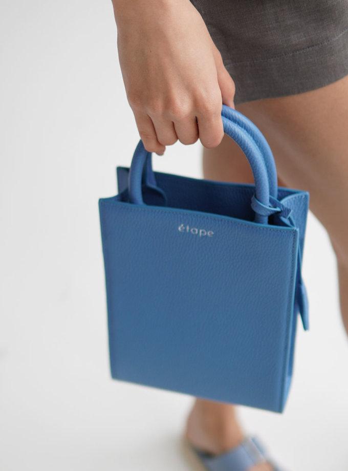 Шкіряна сумка TOY ETP_TOY-BAG888-AZ, фото 1 - в интернет магазине KAPSULA