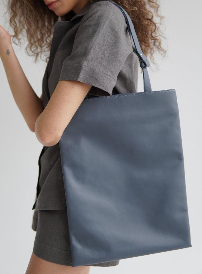 Сумка Grand Bleu-Gris ETP_Grand Bleu-Gris, фото 1 - в интернет магазине KAPSULA