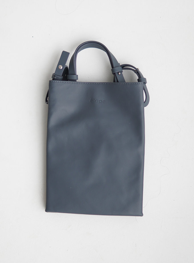 Шкіряна сумка Petite Bleu-Gris ETP_0027-Petite-Bleu-Gris, фото 1 - в интернет магазине KAPSULA