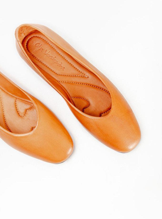 Шкіряні балетки CRS_fw21_21-01528, фото 1 - в интернет магазине KAPSULA