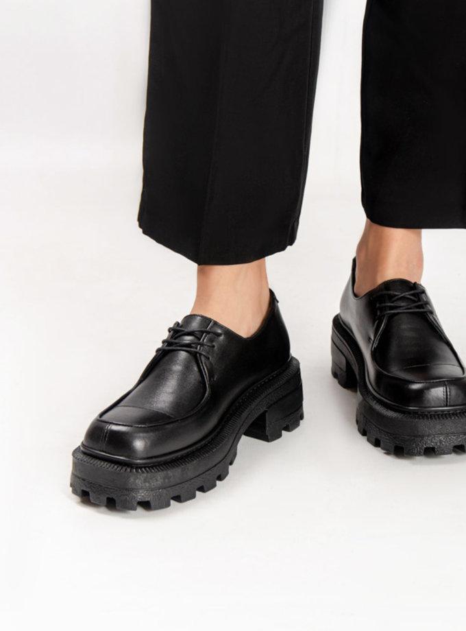 Шкіряні туфлі CRS_fw21_21-01607, фото 1 - в интернет магазине KAPSULA