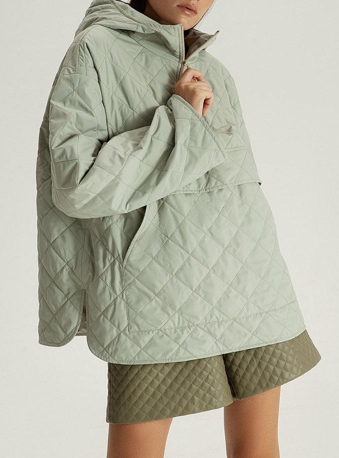 Куртка-худи pistachio WNDR_fw21_plf_01, фото 1 - в интернет магазине KAPSULA