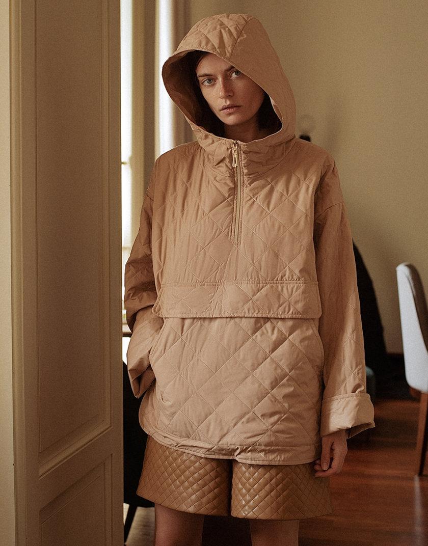 Куртка-худи beige WNDR_fw21_plb_01, фото 1 - в интернет магазине KAPSULA