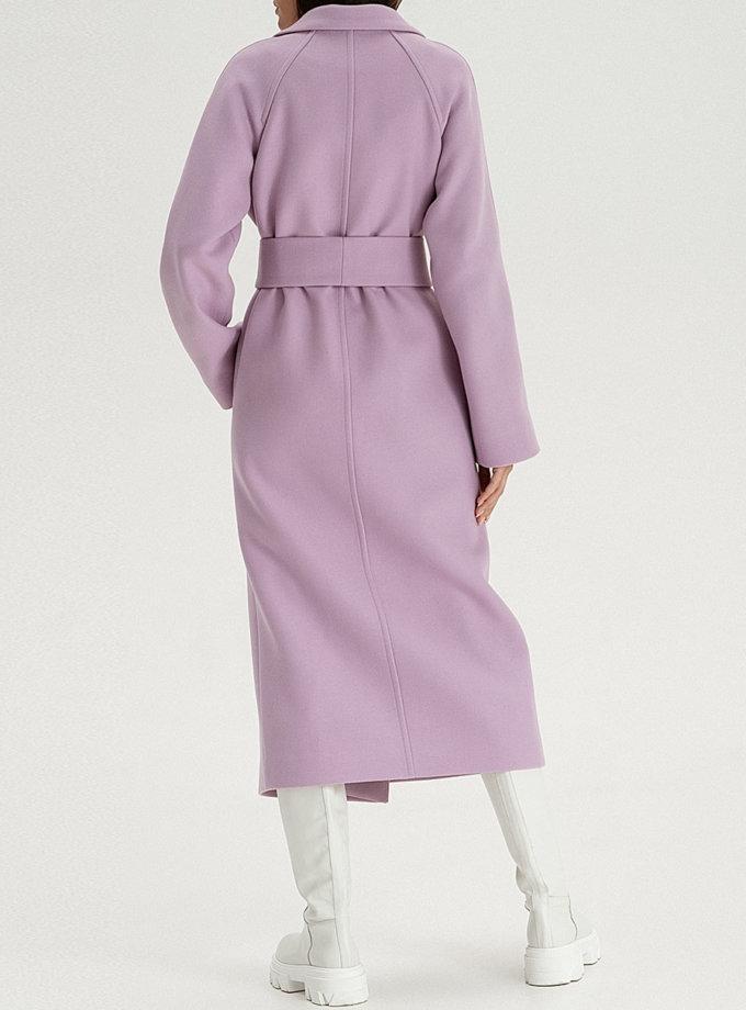 Шерстяное пальто purple WNDR_fw21_wl_03, фото 1 - в интернет магазине KAPSULA