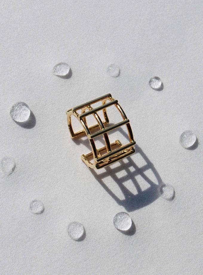 Кафф с желтого золота RAJ_ERA-020, фото 1 - в интернет магазине KAPSULA