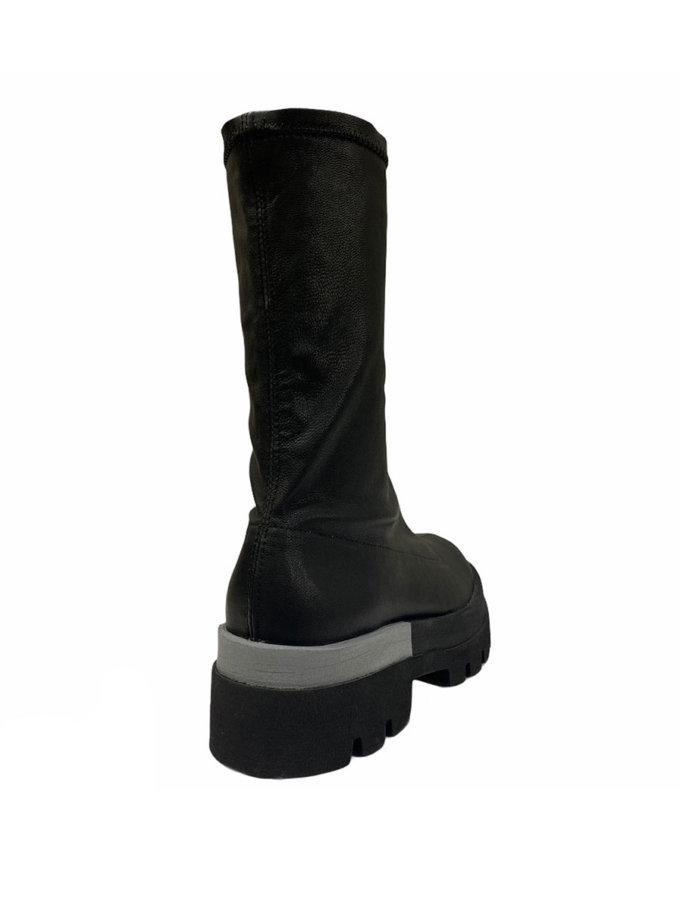 Кожаные ботинки ETP_Sky-4-Eva-gray, фото 1 - в интернет магазине KAPSULA