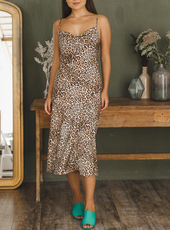 Платье комбинация Лео VONA_FW-21-22-03, фото 1 - в интернет магазине KAPSULA