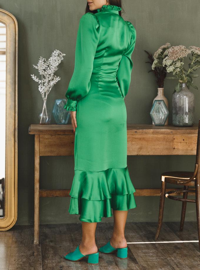 Платье приталенного силуэта VONA_FW-21-22-09, фото 1 - в интернет магазине KAPSULA
