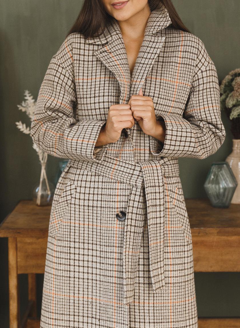 Пальто из шерсти VONA_FW-21-22-31, фото 1 - в интернет магазине KAPSULA