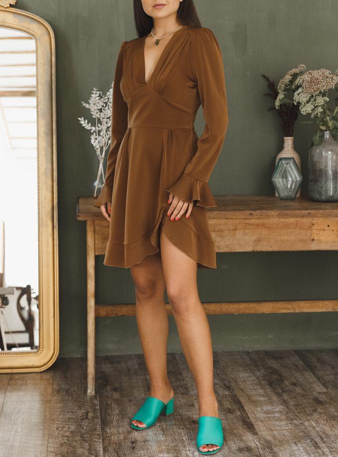 Сукня міні з відкритою спиною VONA_FW-21-22-37, фото 1 - в интернет магазине KAPSULA